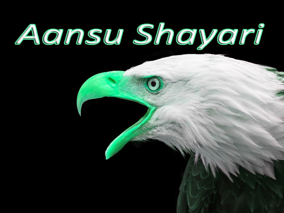 Aansu Shayari - Dard Bhari Shayari